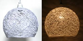 String Chandelier Diy String Lantern Lights Diy Diy Do It Your Self