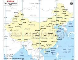 latitude map buy china latitude longitude map with cities latitude longitude