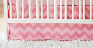 chevron crib skirt pink crib skirt pink chevron crib skirt
