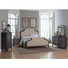 Bedroom Furniture Mn Jaipur Ivory Tufted Eastern King Bedroom 4pc Set For 1 999 94