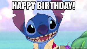 Buzzkill Meme - happy birthday stitch buzzkill meme generator