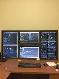 Donovan Student Desk Trading Desk Setup Learn To Trade Stocks U0026 Options
