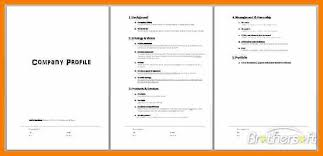 free business profile template 38 pages free company profile
