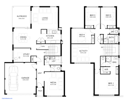 small 2 story floor plans contemporary house floor plans unique contemporary beach house