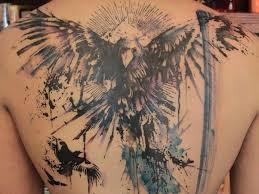70 masculine and creative back tattoos for tattoozza