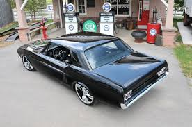 1967 Black Mustang Homebuilt 1967 Ford Mustang That Turns Heads
