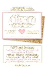 brunch invitations bridal shower invitation bridal brunch invites brunch bubbly