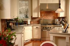 beautiful kitchen with brick backsplash 66 to your home enhancing