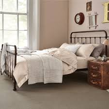 Steel King Bed Frame by Oliver Bed For Rustic Metal King Bed Frame Rustic Metal Bed Frames