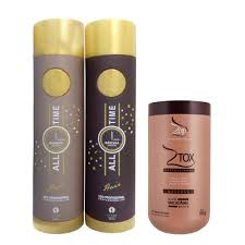 Basta Kit Shampoo + Máscara All Time Zap (2x 1 Litro) + Botox Capilar  #EW19