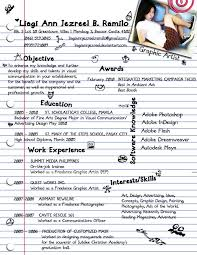 Resume Heading Examples by Sample Creative Resume 50 Awesome Resume Designs That Will Bag
