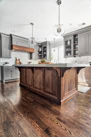 black walnut wood kitchen cabinets grey kitchen design home bunch interior design ideas