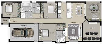 Narrow Block Floor Plans Manhattan Homes Narrow Blocks