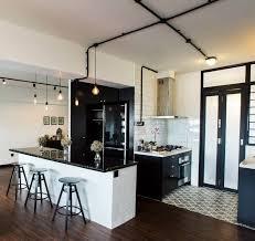 Black And White Kitchens Ideas Black U0026 White Kitchen Singapore Hdb Flat By Jq Ong The