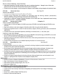 Sample Resume For Sales Manager by Sales Manager Resume Sample Marketing