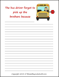 4 best images of printable journal prompts middle