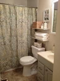rustic bathroom shelving brown polished ebony wood floating linen