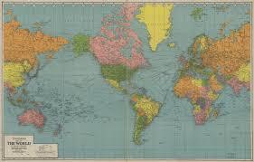 explorepahistory com image color map of the world 1942