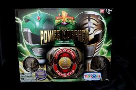 bandai mighty morphin power rangers legacy morpher green white