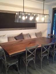 black and wood dining table live edge wood slab black walnut table craftsman dining room