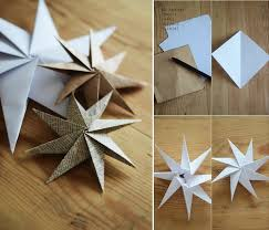 Goods Home Design Diy Diy Decorative Paper Star Home Design Garden U0026 Architecture