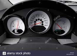 2007 dodge caliber se in orange speedometer tachometer stock