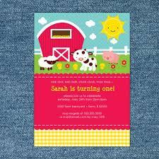 farm birthday invitation printable barnyard birthday invitation