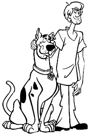 scooby doo coloring pages printable free free coloring kids 8677