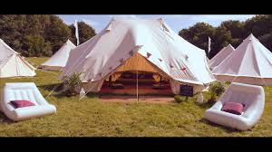 tent deck hotel bell tent youtube