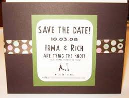 Make Your Own Save The Dates Hand Made Save The Date Card Ideas