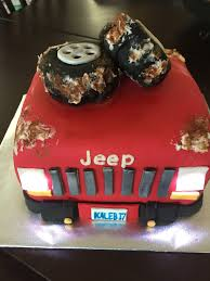 jeep cake topper jeep shaped birthday cake