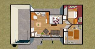 3d 600 square feet apartment design house design and plans