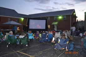 silver screen outdoor events affordable inflatable movie screen