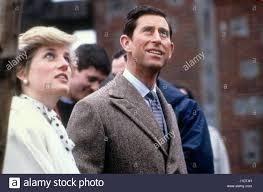 Prince Charles Princess Diana Prince Charles Princess Diana Visit Stock Photos U0026 Prince Charles
