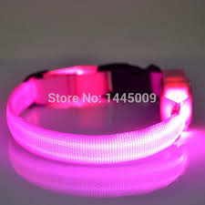 collar light for small dogs 100pcs lot small dog led collar light up led dog collar