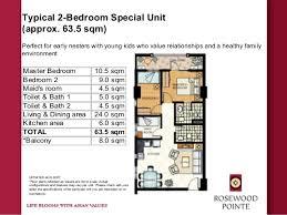 Standard Size Of Master Bedroom In Meters Rosewood Pointe