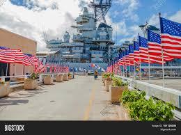 Flags In Hawaii Honolulu Oahu Hawaii Usa Image U0026 Photo Bigstock
