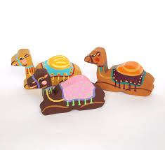 camel decor camel ornament childrens nativity set for