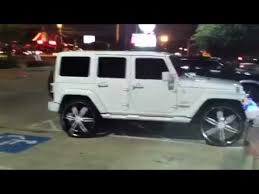 jeep wrangler on 24s 713 motoring cocaine muzik wrangler on 28s