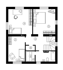 innovative simple house plan with and floor plans story 1