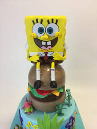 spongebob cake toppers gallery custom cake toppers cake in cup ny