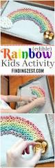 edible rainbow kids activity