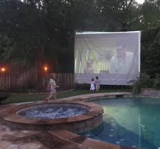 outdoor halloween party ideas outdoor backyard movie theater diy