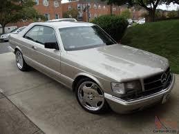 1993 Mercedes Coupe Mercedes Benz 560sec 2 Door Coupe