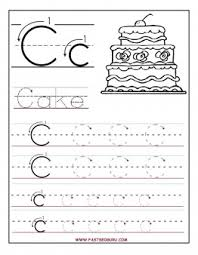 printable letter c tracing worksheets for preschool printable