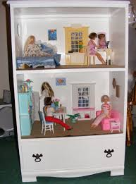 Play Kitchen From Old Furniture by Dollhouses To Build Build A Barbie Doll House From A Wood