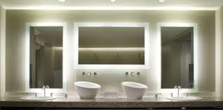 Led Lighted Mirrors Bathrooms Tiled Bathroom Ideas Centralazdining