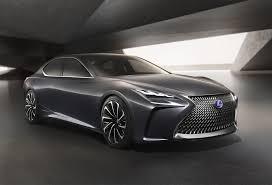 lexus lx 570 mpg 2018 2019 lexus lf fc concept mpg automotive news 2018