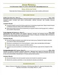 Tutor Resume Examples by Here Are Free Sample Tutor Resumes From Sites Around The Web