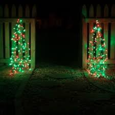 green outdoor christmas lights 30 outdoor christmas decoration ideas net lights cone trees and
